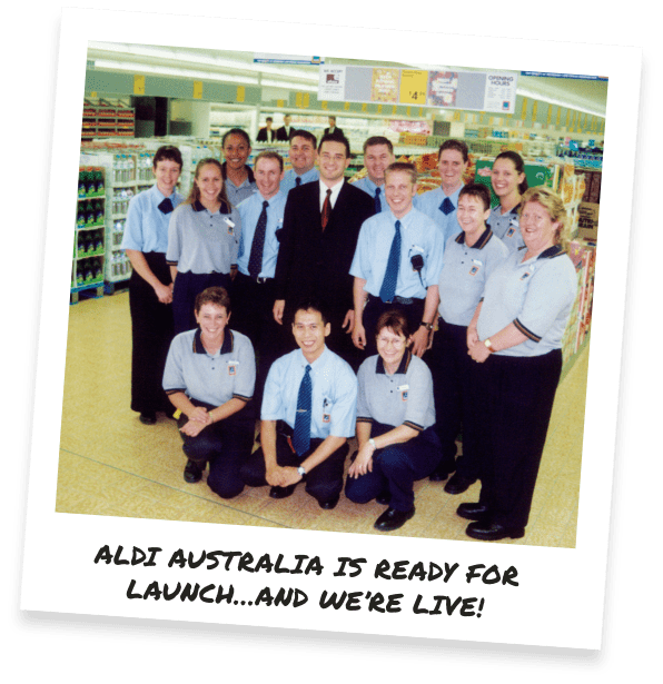 ALDI Australia is ready for launch...and we're go!