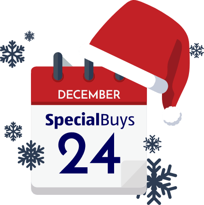 Calendar with December 24th Special Buys